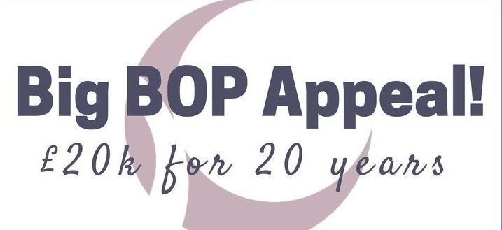 Big BOP Appeal: £20k for 20 years!