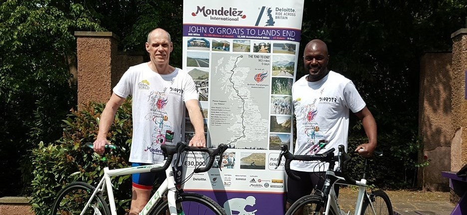 Mondelez Champions Ride Across Britain for CPM